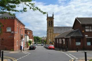 Broomhall Street with St Silas Church, 2014 | Photo: OUR Broomhall