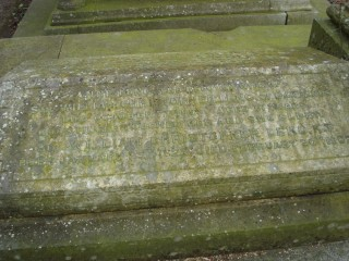 Grave of Leng at Ecclesall Churchyard | Photo: Anne Diver