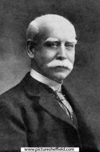 William Burnett Esam, Director of Sheffield Banking Company. 1913 | Photo: SALS PSy04970