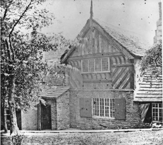Broom Hall showing timber framing | Photo: SALS PSs05455