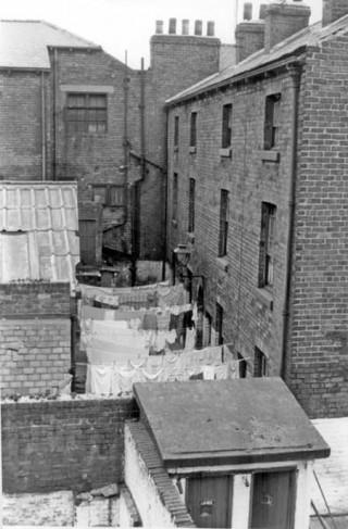 Court 7, Hanover Street. 1958 | Photo: SALS PSt00422