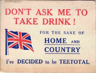 Don't Ask Me To Take Drink! 1916 | Photo: Suzanne Cam
