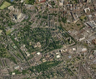 Bird's Eye view of Broomhall from Bing Maps   Photo: Bing Maps