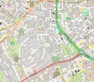 Broomhall on OpenStreetMap   Map: OpenStreetMap