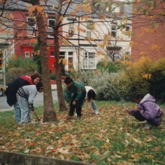 Young Gardeners, 1997   Photo: Broomhall Centre