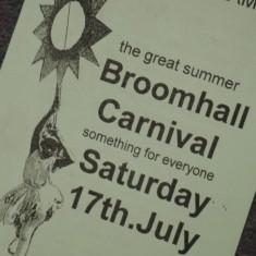 Broomhall Carnival leaflet | Photo: Polly Blacker / Tony Cornah