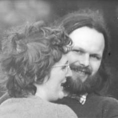 Polly Blacker and Tony Cornah. 1978 | Photo: Polly Blacker / Tony Cornah