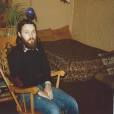 Tony at 22 Victoria Road. 1976 | Photo: Polly Blacker / Tony Cornah