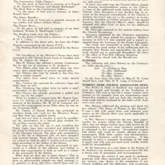 St Andrew's Church Leaflet Page 6. 1953   St Andrew archive