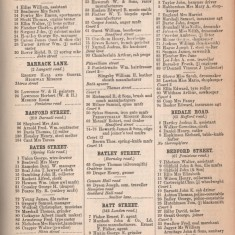 White's Sheffield District Directory Bath Street. 1891 | Photo: David Stevenson