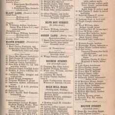 White's Sheffield District Directory Bolton Street. 1891 | Photo: David Stevenson