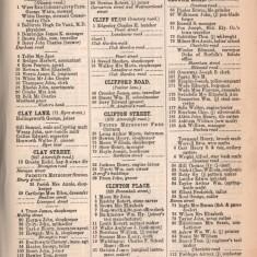 White's Sheffield District Directory Clinton Place. 1891 | Photo: David Stevenson