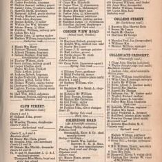 White's Sheffield District Directory Collegiate Crescent. 1891 | Photo: David Stevenson
