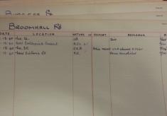 World War II in Broomhall: Bomb Damage in Broomhall