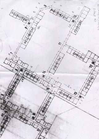 Broomhall flats planning brief map. | Photo: SALS CA 6993/H/0701/21