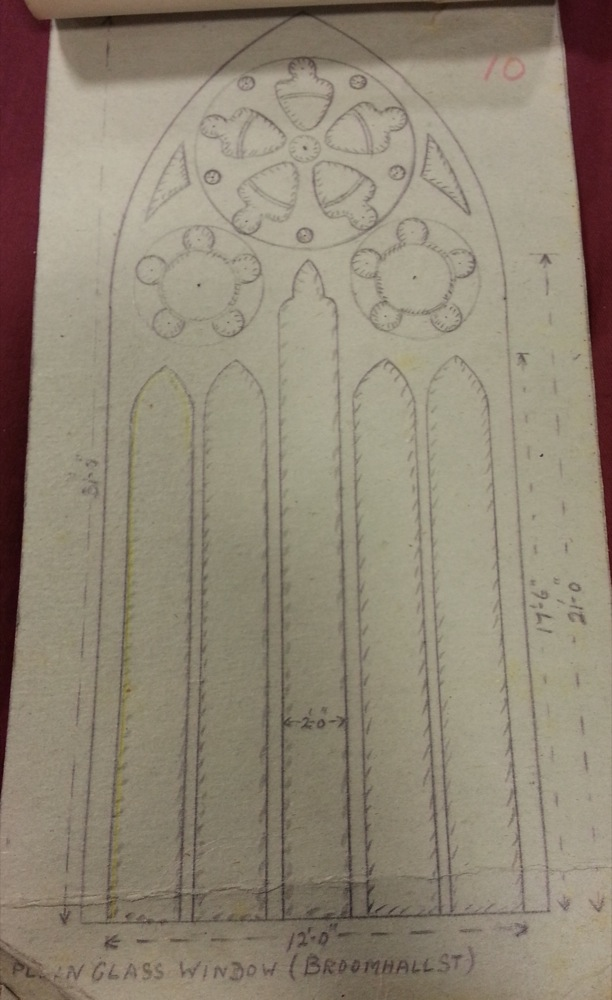 St silas church window designs st silas church our for Window design sketch