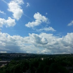 Sky from Hanover Roof. 2014 | Photo: Our Broomhall