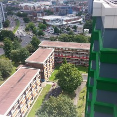 Photos from Hanover Roof of the Hanover Flats. 2014 | Photo: Our Broomhall