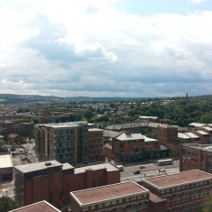Site of the old Ward's brewery (centre right). 2014 | Photo: Our Broomhall