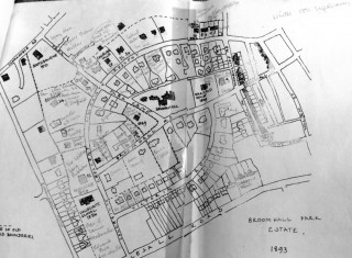 Broomhall Park map of 1893 by The Victorian Society | Photo: BPA