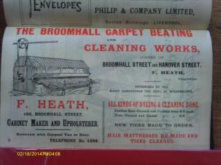 Carpet Beating Works. Broomhall Street. 1901 | Photo: SALS RB1901AD35