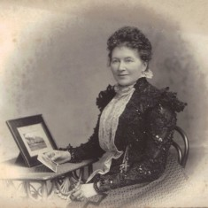 Mary (nee Hartley) Broomhead Colton-Fox. Wife of Barnard Platts Broomhead Colton-Fox. Unknown year | Photo: Stian Alexander