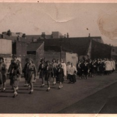 Whitsun procession. 1940s | Photo: Audrey Russell