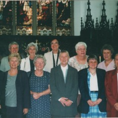 Josie Moore (back row far left), Audrey Russell (front row, third from left). 1998 | Photo: Audrey Russell