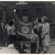 St Silas Guides church parade, Hanover Square. 1958 | Photo: Audrey Russell