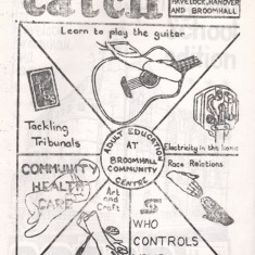 Cover of the February 1979 edition of Catch Newspaper. February 1979 | Photo: Broomhall Centre
