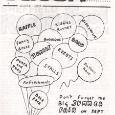Cover of the August 1976 edition of Catch Newspaper. August 1976 | Photo: Broomhall Centre