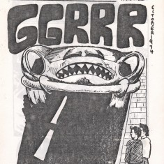 Cover of the October 1974 edition of Catch Newspaper. October 1974 | Photo: Broomhall Centre