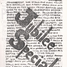 Cover of the 1977 Jubilee edition of Catch Newspaper. 1977   Photo: Broomhall Centre
