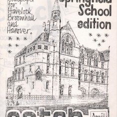 Cover of the April 1979 edition of Catch Newspaper. April 1979 | Photo: Broomhall Centre