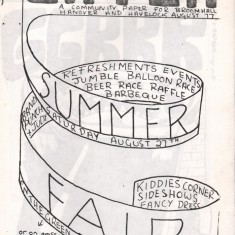 Cover of the August 1977 edition of Catch Newspaper. August 1977 | Photo: Broomhall Centre