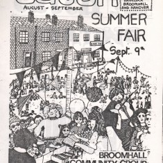 Cover of the September 1978 edition of Catch Newspaper. September 1978 | Photo: Broomhall Centre
