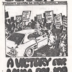 Cover of the December 1974 edition of Catch Newspaper. December 1974   Photo: Broomhall Centre