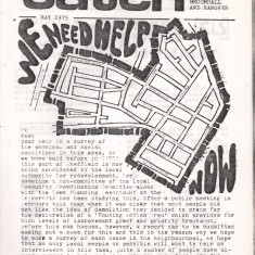Cover of the May 1975 edition of Catch Newspaper. May 1975 | Photo: Broomhall Centre