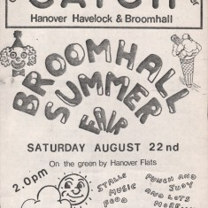 Cover of the August 1981 edition of Catch Newspaper. August 1981 | Photo: Broomhall Centre
