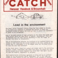 Cover of a 1976 edition of Catch Newspaper. c. April 1976 | Photo: Our Broomhall