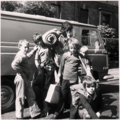 Boys preparing to go on a camping trip. 1970s | Photo: Our Broomhall
