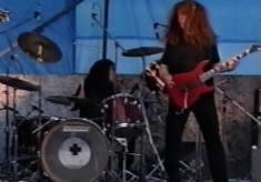 Broomhall Carnival 1993 video: rock band