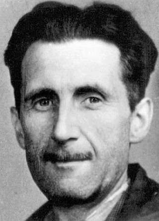 George Orwell in a 1933 'Press' photo   Photo: Wikimedia Commons
