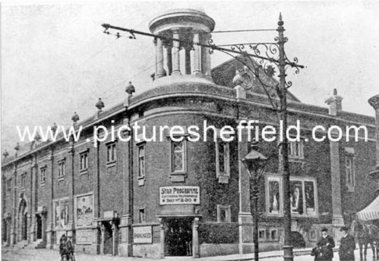 The Star Picture House, Ecclesall Road junction of William Street. Unknown year | Photo: SALS PSs02709