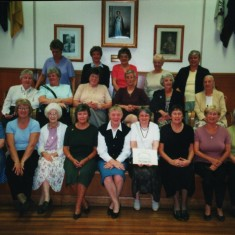 St Silas Guide reunion, group photograph. 13 October 2001 | Photo: Audrey Russell