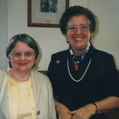 Cath Brown (right). 13 October 2001 | Photo: Audrey Russell