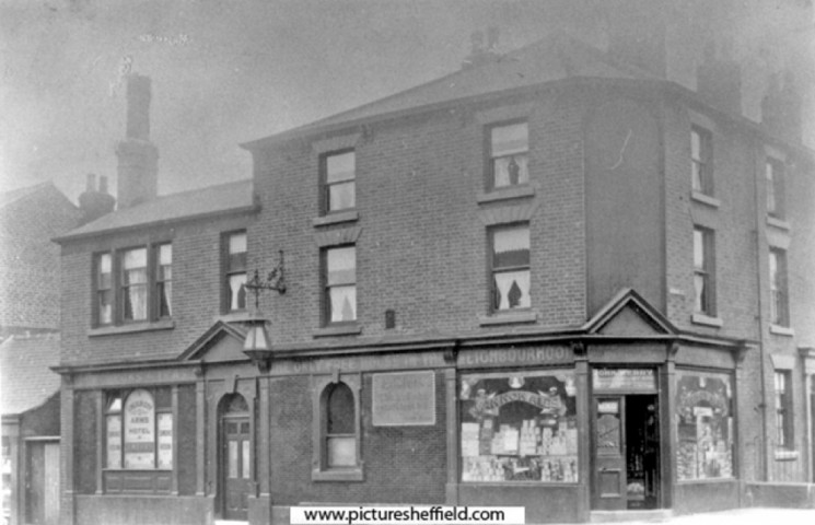 Lincoln City Arms Hotel, Clarence Street. Unknown year | Photo: SALS PSs06906