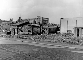 Demolition of properties. 1965 | Photo: SALS PSs15222 & H. Ainscough