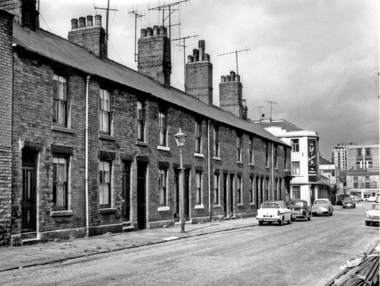 Nos 64-46, Hodgson Street. 1966 | Photo: SALS PSs17423 'Sheffield Newspapers Ltd'