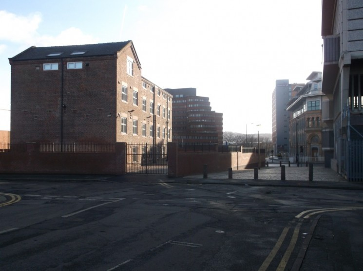Site of St Silas School. August 2014   Photo: Our Broomhall